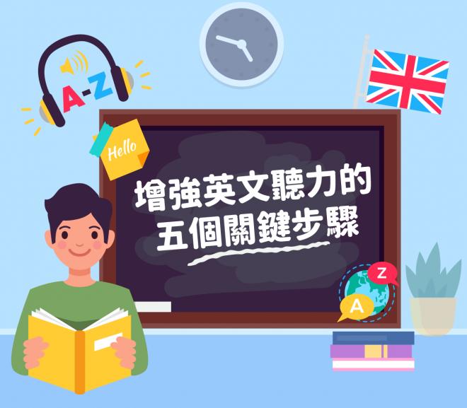 【Cindy老師】增強英文聽力的五個關鍵步驟